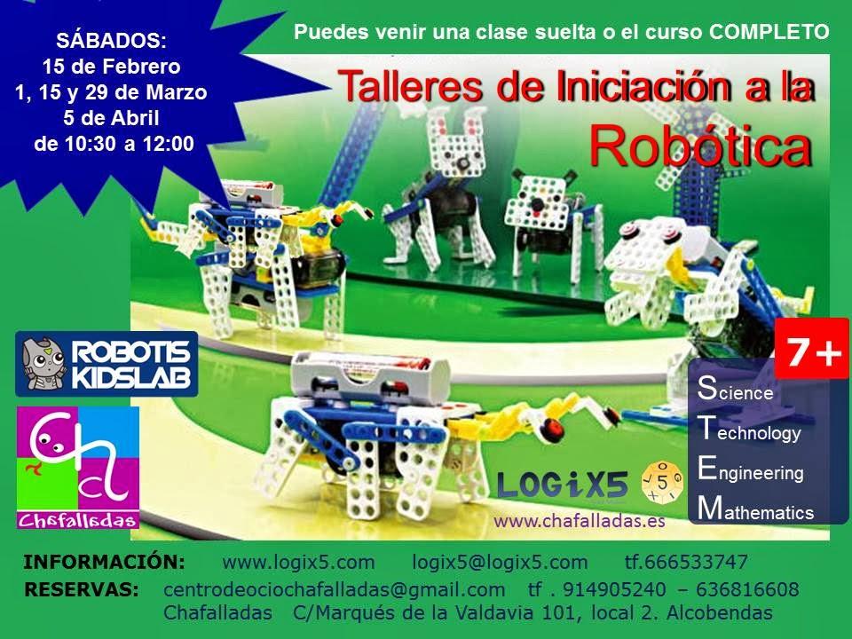 taller de robótica para niños