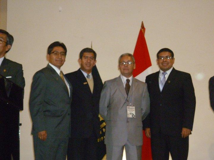 SEMINARIO INTERNACIONAL DE CRIMINALISTICA AREQUIPA 2011 ORGANIZADO POR EL COLEGIO DE ABOGADOS