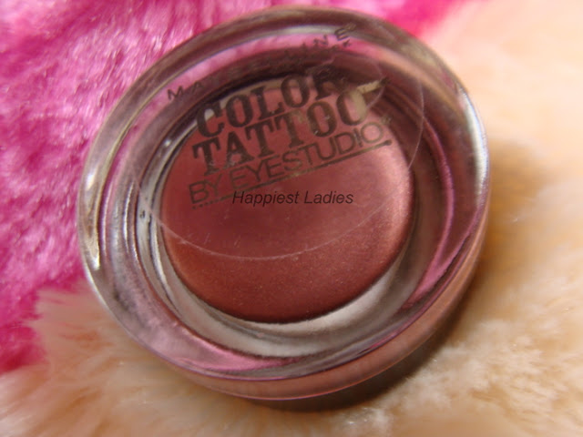 Maybelline Color Tattoo 24 hour Eyeshadow Pomegranate Punk Review+color tattoo colors