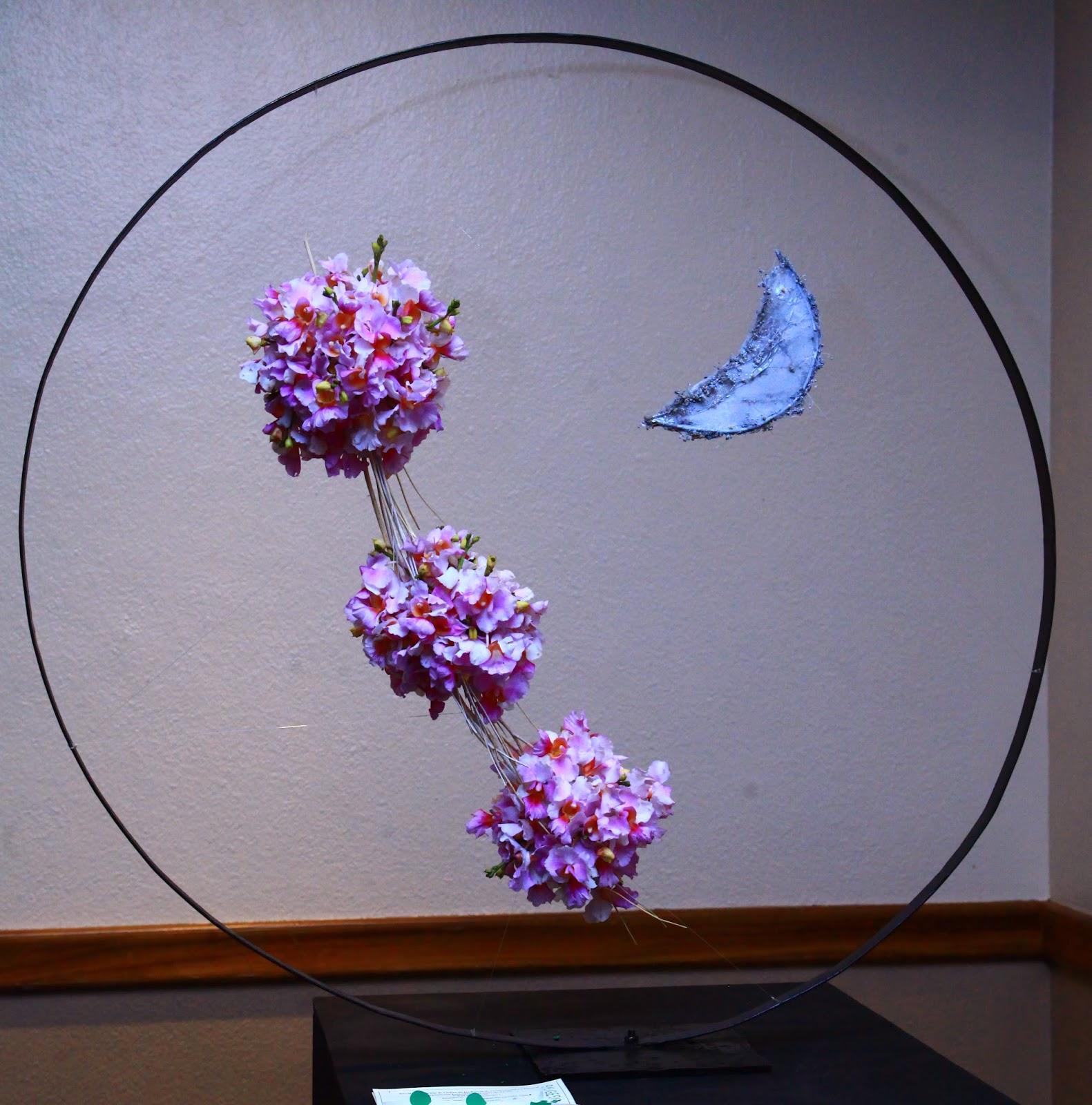 Arreglos florales creativos dise o espacial enmarcado - Arreglos florales creativos ...