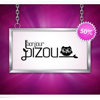 50% off sale in Bonjour Bizou!