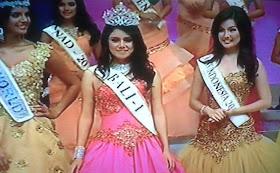 Profil Ines Putri Tjiptadi Chandra Miss Indonesia 2012