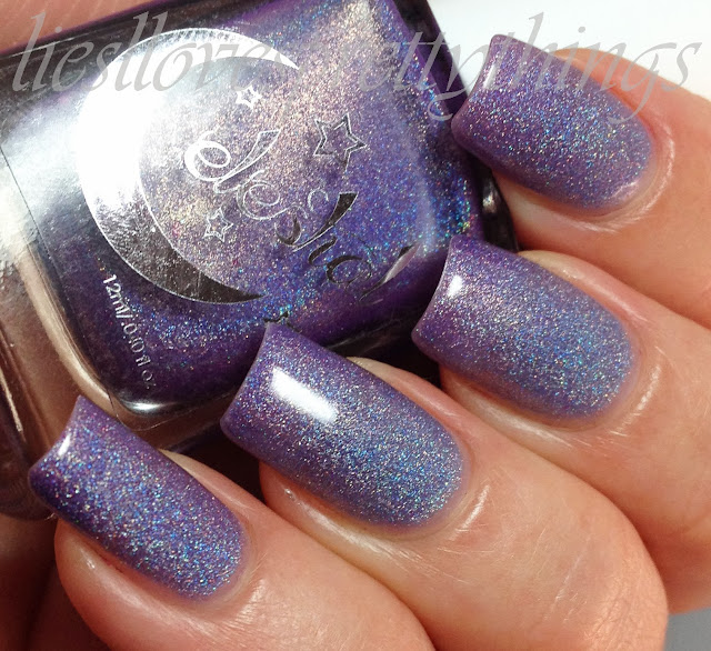 Celestial Cosmetics Little Finger swatch and review