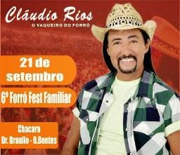 6º Forró Fest Familiar com Cláudio Rios e Deboy Nascimento
