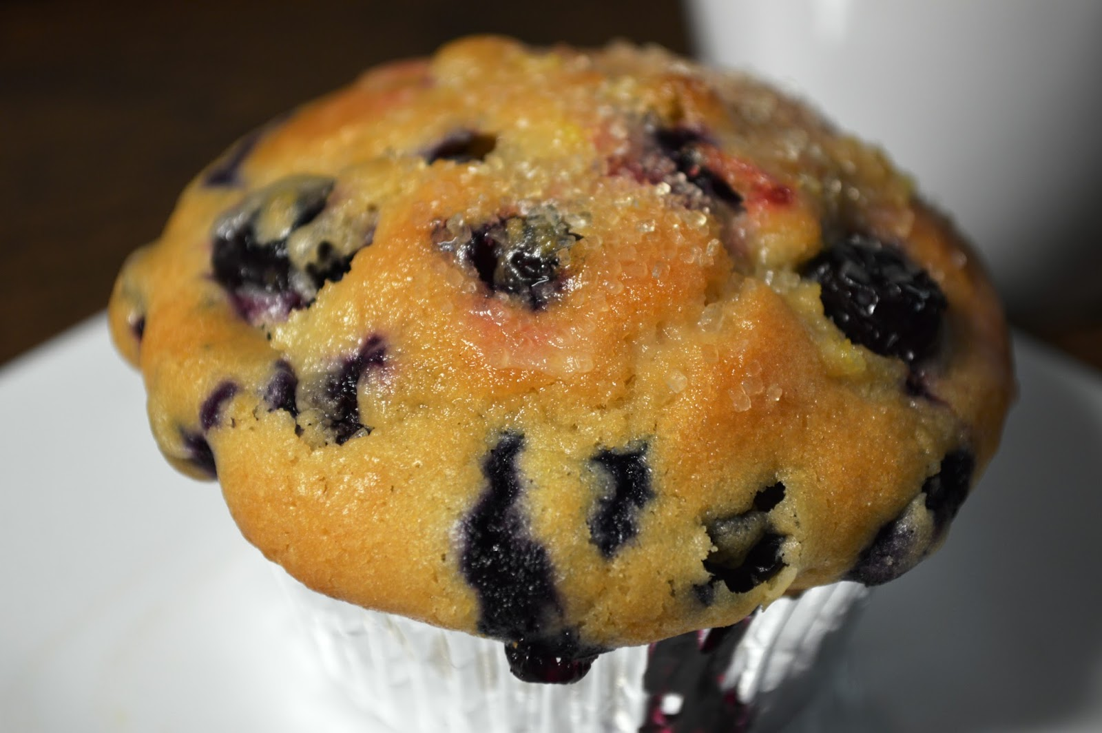 Clever Soiree: Blueberry Cream Cheese Muffins with Lemon ...