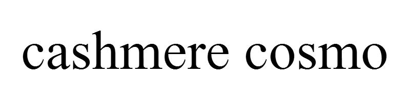 cashmere cosmo