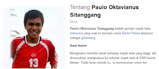 Profil Paulo Oktavianus Sitanggang