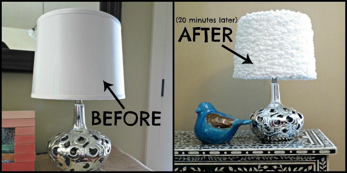 DIY Lamp Shade U2013 Made From Ikea Ofelia Blanket