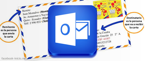 outlook remitente