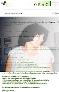Marisa G. Aino: L'idea, il desiderio, la menzogna