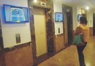 quảng cáo LCD trong thang máy, quảng cáo Frame trong thang máy