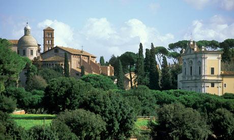 Il Colle del Celio al Tramonto: visite guidate Roma: 06/04/2013