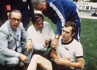 Beckenbauer lesionado