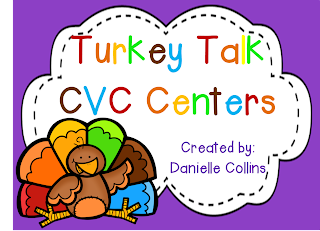 1st Grade CVC Literacy Centers
