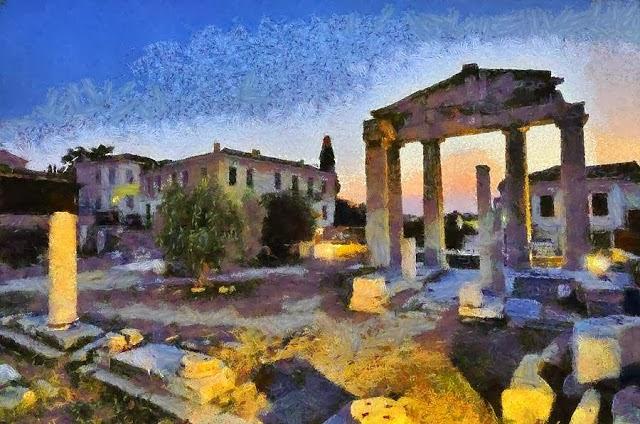 Γυρεύω την Αθήνα μου. της Λίλα Μήτσουρα