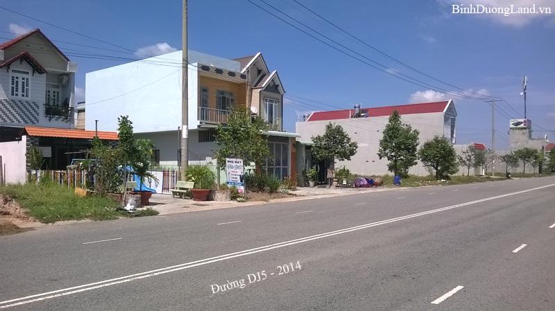 Đường DJ5 Mỹ Phước 3
