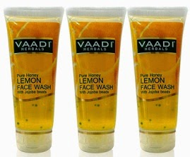 Register / Signup and Get Vaadi Herbals Pure Honey Lemon Face Wash With Jojoba Beads Pack Of 3 (60 ml Each) worth Rs.144 for Rs.69 Only (Free Shipping)