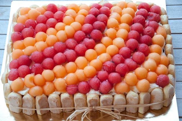 torta estiva alla frutta