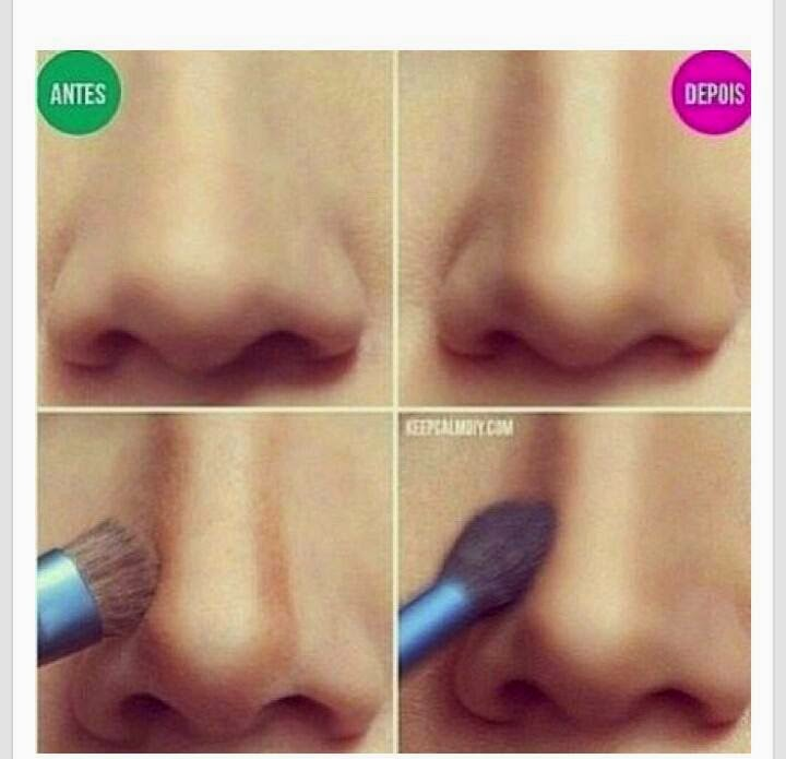 nariz mas delgada