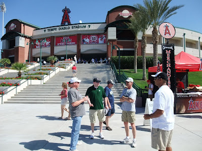 Arizona Spring Training, Tempe Diablo Stadium, angels