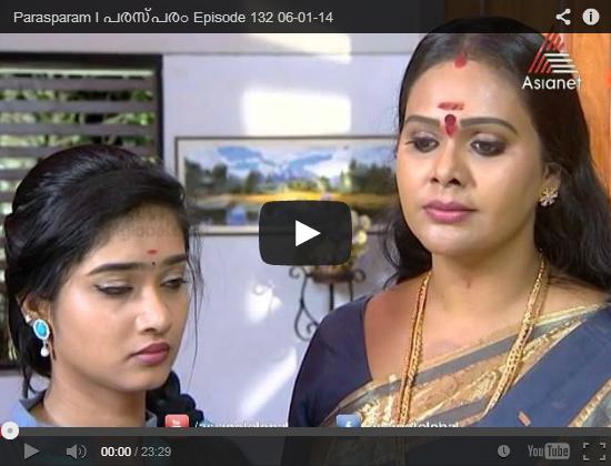 Watch Parasparam Serial 6th Jan 2014 ( 6/01/2014 ) Episode