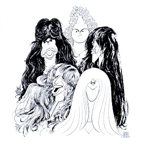 Aerosmith Draw The Line album cover 1977