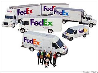 FedEx Urgent Shipping