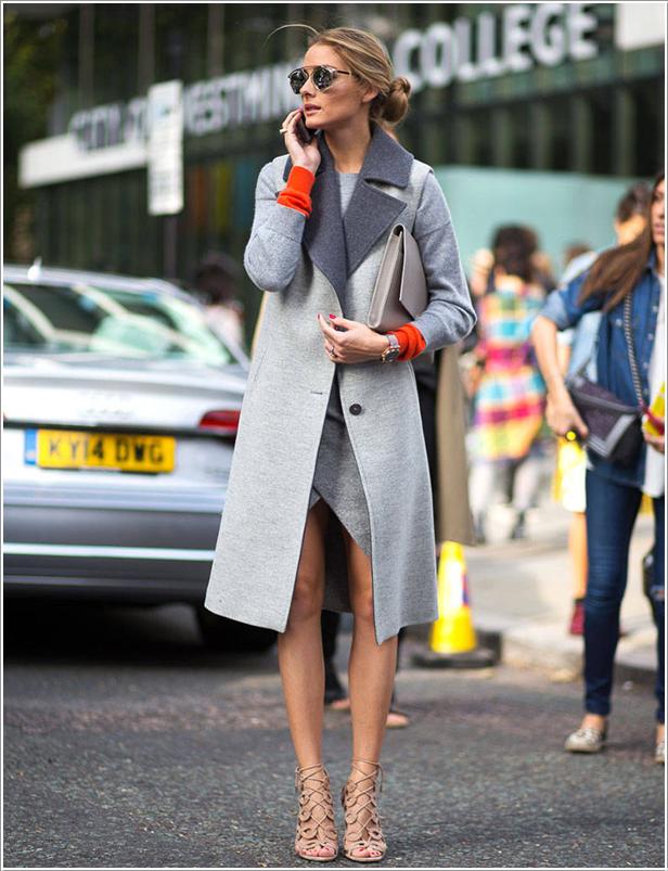 The Olivia Palermo Lookbook London Fashion Week Ss15 Olivia Palermo At Preen