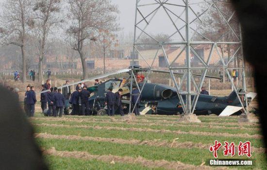 Heli serang WZ-10 jatuh di provinsi Shaanxi