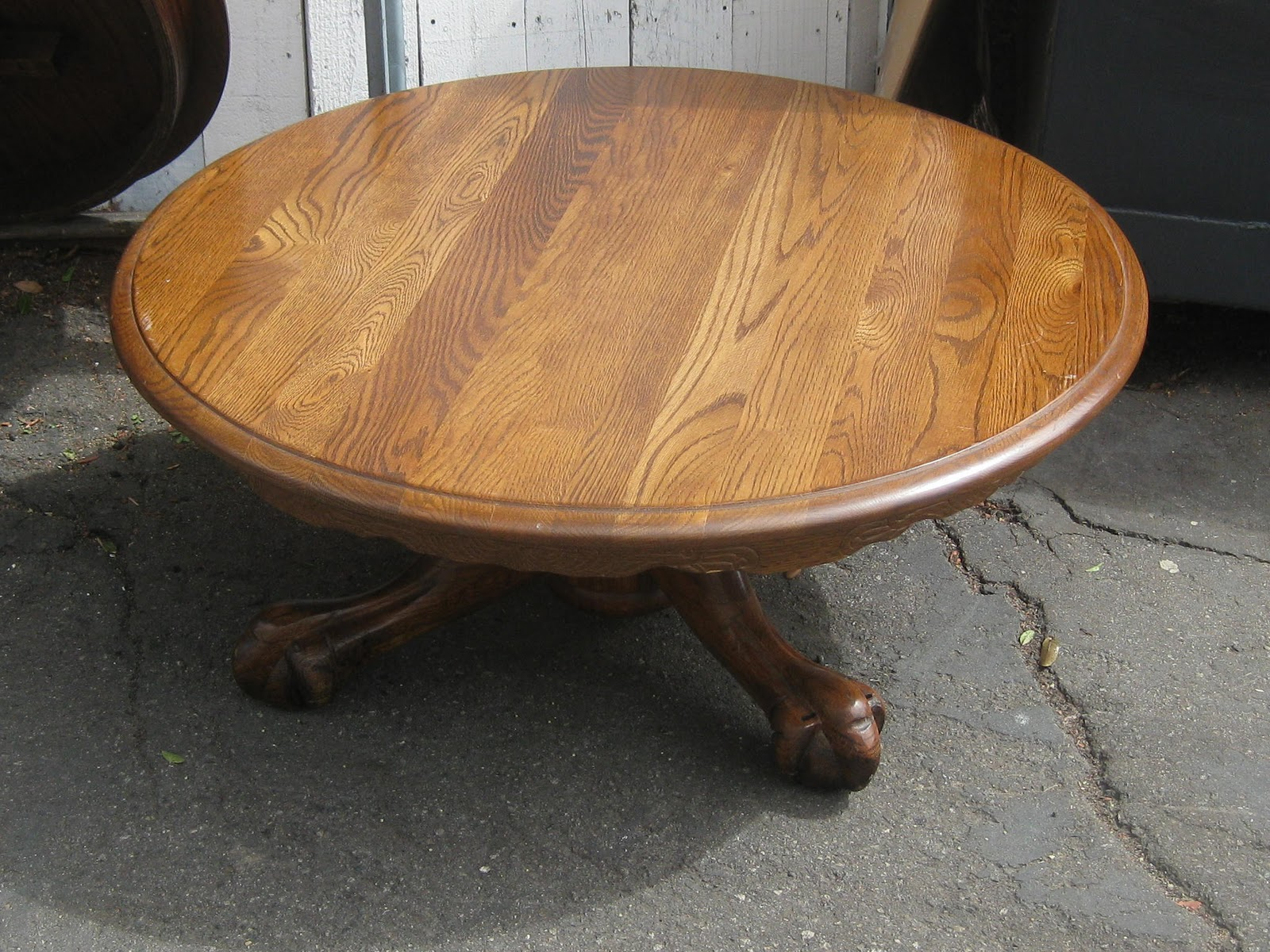 Claw Foot Coffee Table