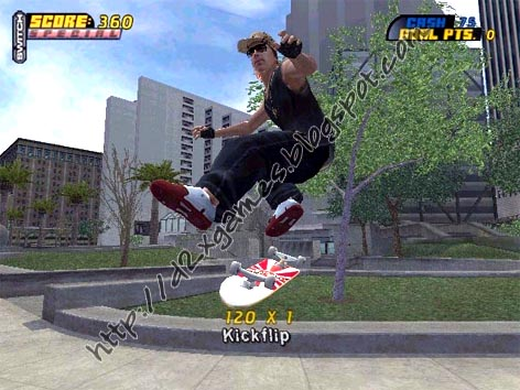 Free Download Games - Tony Hawk Pro Skater 4