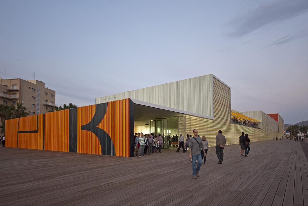 Selgas cano auditorio de cartagena hic arquitectura - Arquitectura cartagena ...