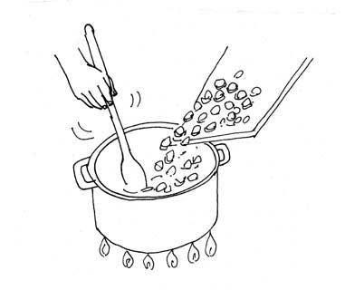 lentil lemon soup by Yukié Matsushita
