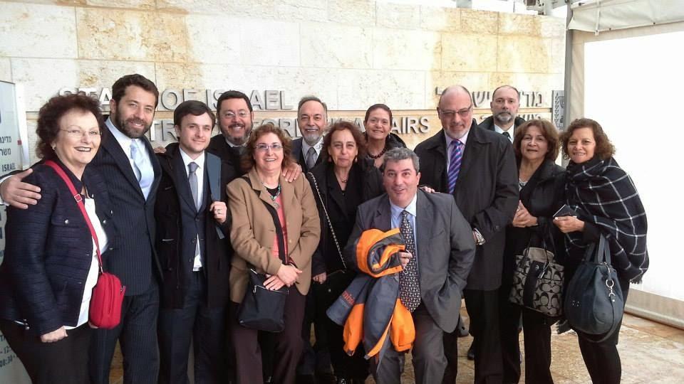 Becarios en el Ministerio de Relaciones Exteriores de Israel