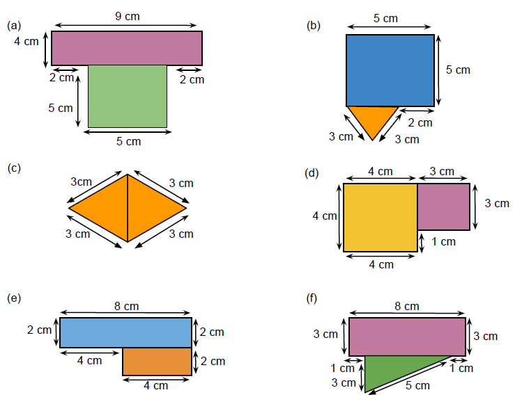 Go Back > Gallery For > Perimeter Of Composite Figures
