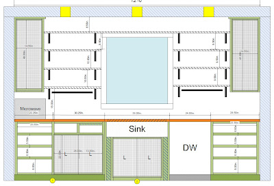 5K Kitchen Remodel - Beach House Edition: Sink Wall Cabinet Design