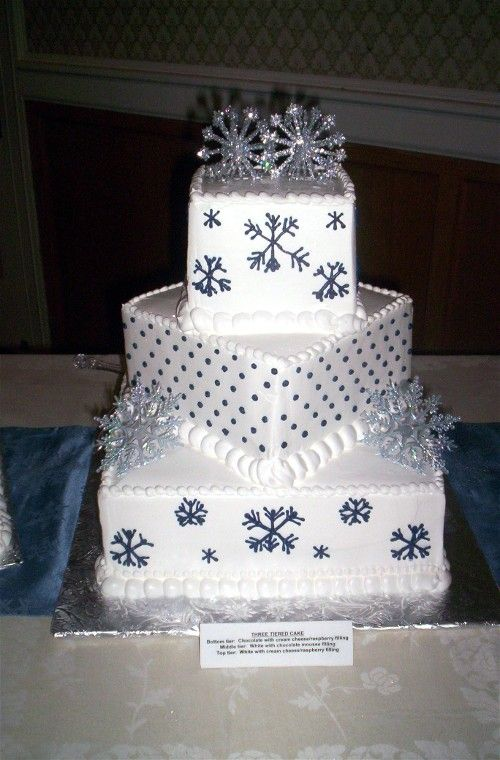 Wedding Cakes Winter Wonderland Cake Ideas