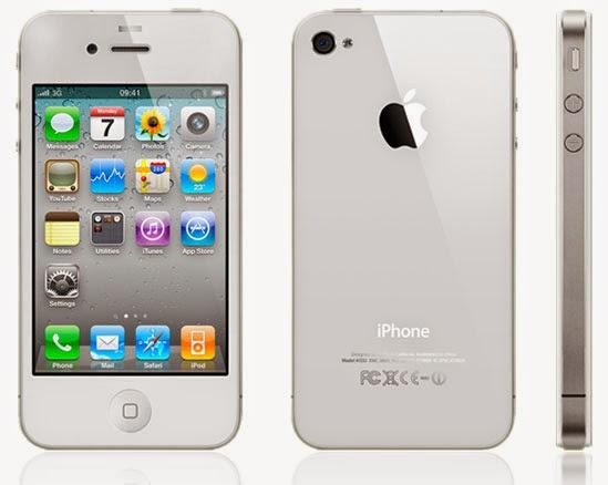 Spesifikasi dan Harga Iphone 4 | Memory Internal Hingga 32 GB