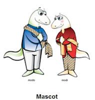 Maskot Sea Games 2011