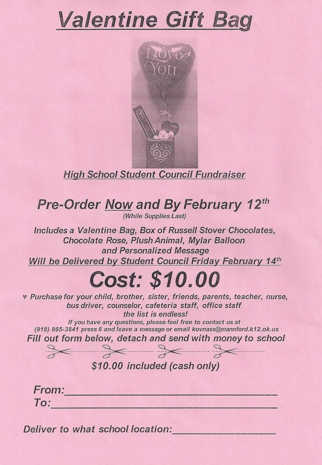 candy gram school fundraiser template | just b.CAUSE
