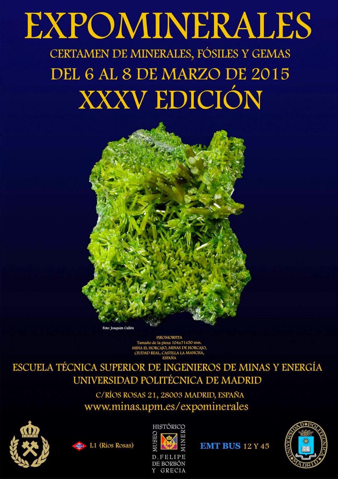 EXPOMINERALES. XXXV EDICIÓN