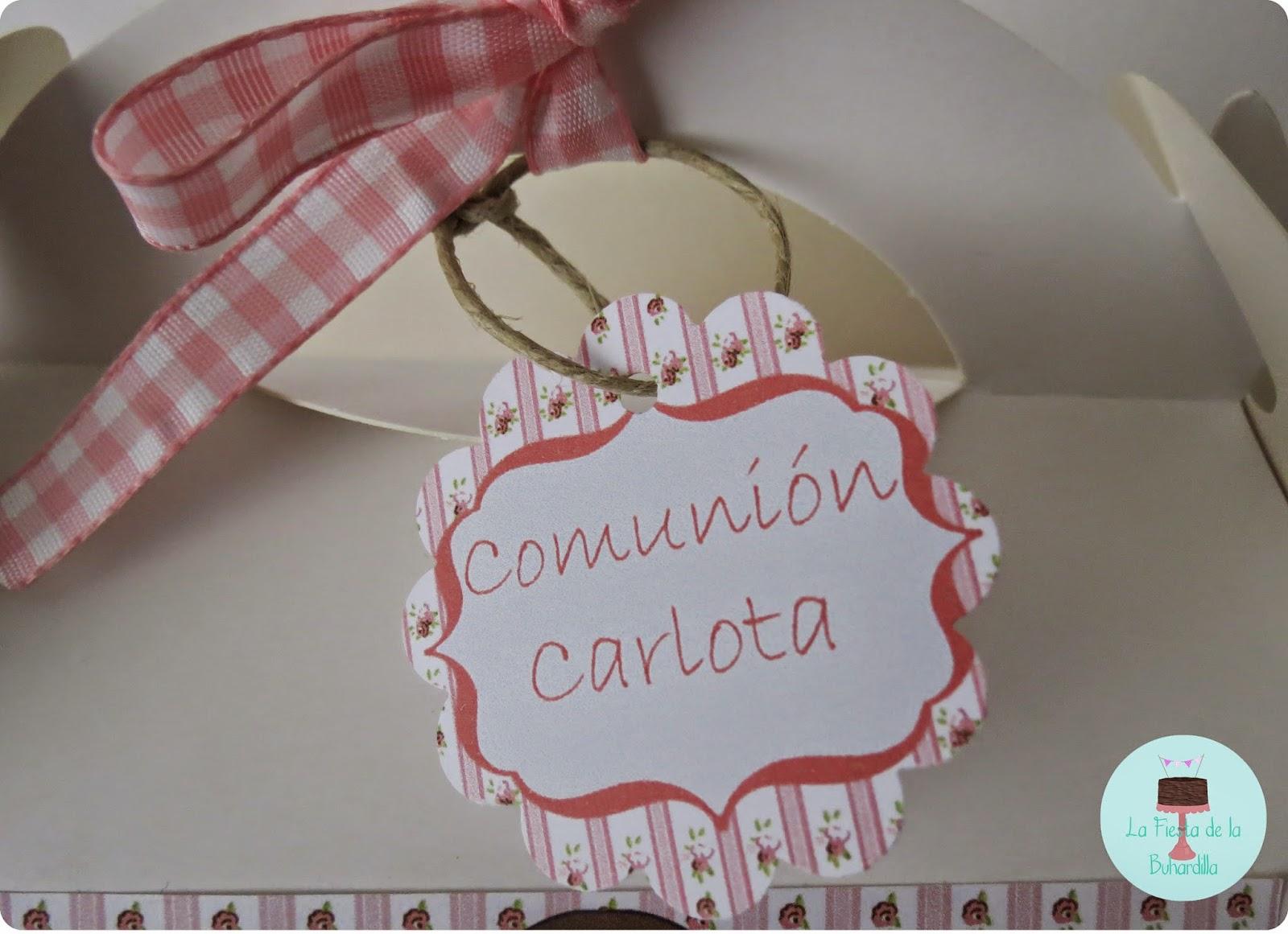 CAJAS DECORADAS COMUNION