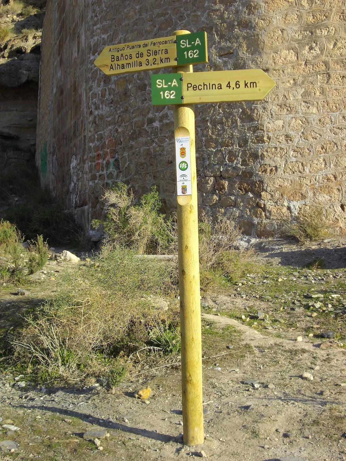 Sureste3 ruta btt sendero sl a 162 - Banos de sierra alhamilla ...