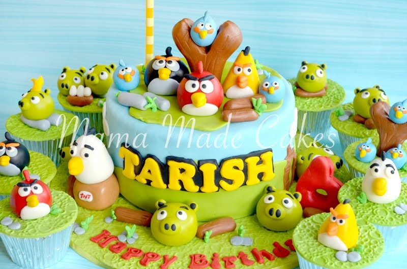 Happy Birthday Cake Joshua Images ~ Mama made cakes angry bird cake and cupcakes