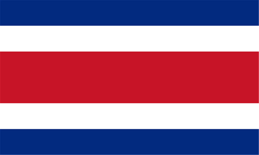 Just Pictures Wallpapers: Costa Rica Flag