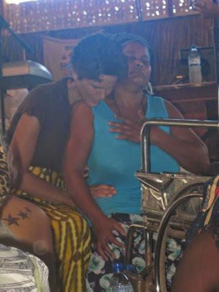 a beautiful Mozambiquan mother