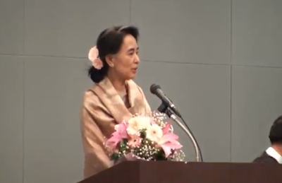 Daw Suu meets with Burmese in Japan – VDO