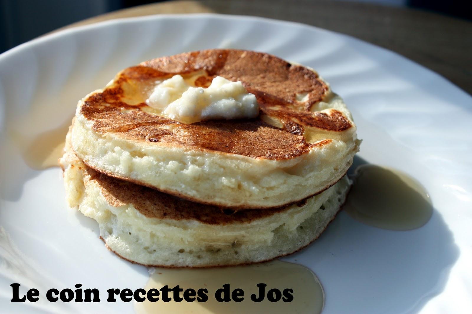 pancakes 192 la ricotta recette