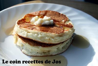 recettes  Pancakes à la châtaigne