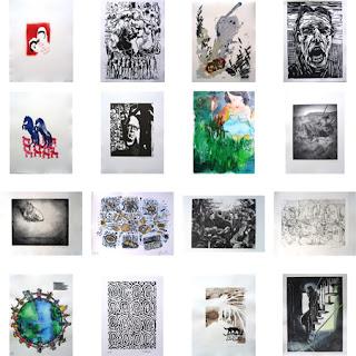 Immendorff, Grafiken, Edition,